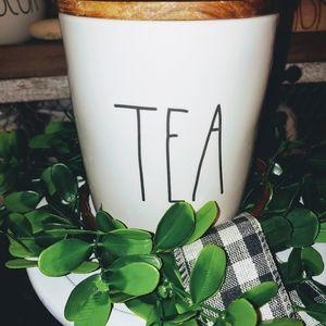 COPY - Rae Dunn Large Letter Tea Cellar